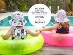 Have you entered the giveaway to celebrate the launch of our limited edition @sackme X @acornkids hats? We are  giving away a fantastic prize valued at $500 to one lucky person. The prize includes a complete set of Sack Me!'s Flamingo Pink or Mint bedding to the value of $250 a Flamingo reversible bucket hat and a Green Mob bucket hat (valued at $36.95 each) and a voucher to spend at Acorn Kids to the value of $180. Competition is open WORLDWIDE.  Enter below or on the original competition…