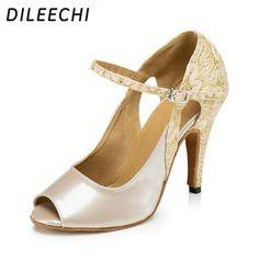 f6482eea2c Promotion price $40.17) Lady Standard Dance Shoe BD 125 High Heel ...