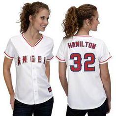 Authentic Josh Hamilton Women s Jersey for sale!Buy Women s Los Angeles  Angels of Anaheim Authentic 55efba7eb
