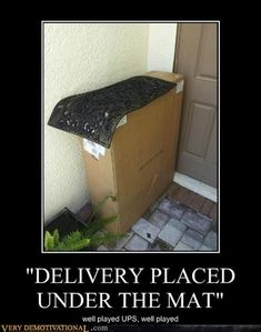 well played UPS