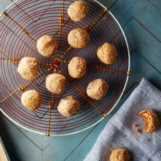 Pannelet Cookies with Sweet Potato and Coconut -- gluten-free, grain-free --- Alice Medrich's version of these golden orange yam and coconut cookies from Spain is delicate and flavorful Good Sweet Potato Recipe, Sweet Potato Recipes, Ham Recipes, Broccoli Recipes, Turkey Recipes, Baking Recipes, Chicken Recipes, Vegan Recipes, Dessert Recipes