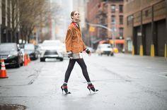Η fashion blogger έκανε μία ακόμα εμφάνιση-δήλωση μόδας και στυλ.