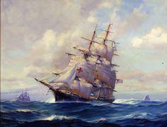Packet Ship 'Dreadnought' Frank Vining Smith 1946