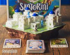 Santorini Tic Tac Toe, Tabletop Games, Santorini, Board Games, Santorini Caldera, Table Games
