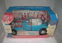 1963 Mattel Barbie Ken Midge Coustom Hot Rod Mint in The Box WOW | eBay