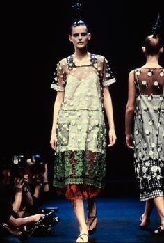 Comme des Garçons Fall 1995 Ready-to-Wear Fashion Show - Stella Tennant