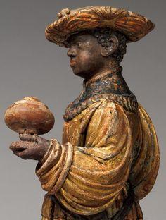 Anonymous Artist (Allgäu)  Wooden Figures: Adoration of the Magi  Germany (c. 1515)