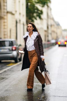 Deep brown is replacing light beige as the earthy neutral you need to incorporate into each outfit.