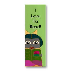 I Love To Read Mini Bookmarks- Pk of 20 Business Card Template