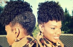 Let's see some of the most interesting updo hairstyles for black women, starting from simple curly styles and ending with cute elegant looks for special occasions. Choose the right updo for your black hair, be it long spirals or short afro coils! Curly Hair Updo, Natural Hair Updo, Natural Hair Styles, Natural Updo Hairstyles, Simple Hairstyles, Afro Hair, Puff Hairstyle, Curly Fro, Hair Perms