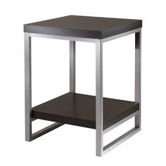 Shop Winsome Wood  93418 Jared End Table at ATG Stores. Browse our end tables, all with free shipping and best price guaranteed.