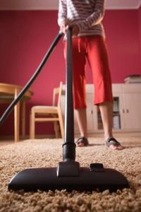how to remove old stains from carpet. i'm going to be needing this since the dog refuses to stop making messes.