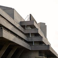 Brutalist buildings: National Theatre, London by Denys Lasdun