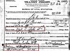 "Ancestry.com | When we think of civil death records, typically a death certificate or a death register comes to mind. But in browsing through these collections I found other related records included as well. For example, the description of the South Carolina Death Records, 1821-1955 database reveals that it also includes ""returns of interment, returns of death, transportation for burial forms, and physician's certificates,"" among other things."