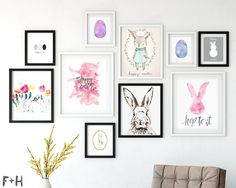 25 Free Modern Easter Printables
