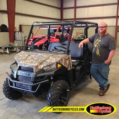 Thanks to Jessie Davis Jr. from Columbia MS for getting a 2017 Polaris Ranger 570 Crew. @HattiesburgCycle