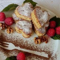Kávékrémes-diós süti   Nosalty French Toast, Breakfast, Dios, Morning Coffee