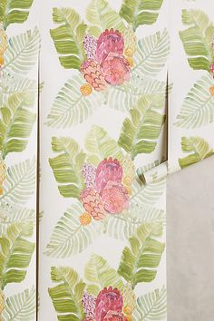 Majorcan Garden Wallpaper - anthropologie.com