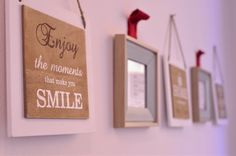 Enjoy the moments Your Smile, Make You Smile, In This Moment, Make It Yourself, How To Make, Decor, Decoration, Decorating, Dekorasyon