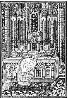 Ut Fideles Inveniatur: The Mass of always - Mons. Catholic Books, Catholic Kids, Roman Catholic, Devotions For Kids, Gravure, Religious Art, Priest, Line Art, Black And White
