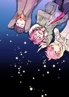 Sosuke, Rin, and Kisumi