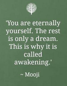 Mooji's wisdom