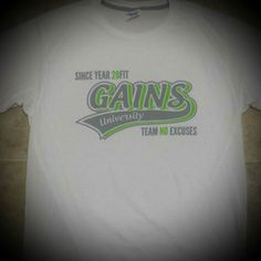 These tees are also almost SOLD OUT  GAINS UNIVERSITY TEE..... dropping  price down to $18  Sizes limited  #abs #aesthetics #bodybuilding #beastmode #fitnessapparel #exercise #fit #fitlife #fitspo #fitness #fitnessaddict #fitnessmodel #gymlife #instafit #fitnessmotivation #gym #instafitness #muscle #motivation #nevergiveup #year20fit #physique #ripped #strong #shredded #sixpack #squat #training