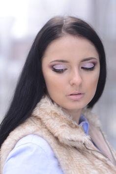Winter inspired makeup