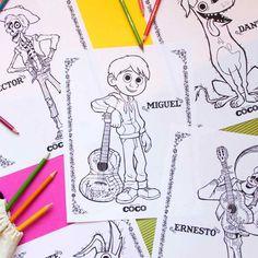 Leer de personages van Coco kennen met deze activiteiten