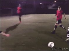 At least he reacted properly Soccer Gifs, Soccer Memes, Soccer Quotes, Sports Memes, Funny Soccer, Nfl Sports, Funny Cute, The Funny, Hilarious