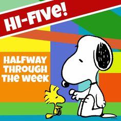 Hi-Five! Halfway thru the week
