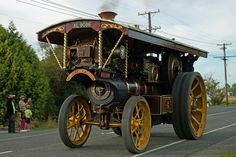 1912 Burrell steam tractor