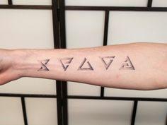 Witcher tattoo dotwork by Rikuturso