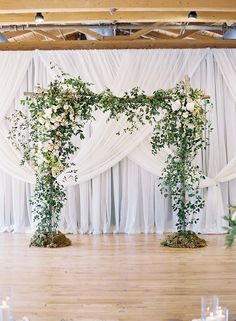 love this for an indoor ceremony | Chris Isham Photography                                                                                                                                                                                 More