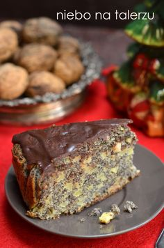 Cake nature fast and easy - Clean Eating Snacks Polish Desserts, Polish Recipes, Cookie Desserts, Polish Food, Sweet Recipes, Cake Recipes, Dessert Recipes, Different Cakes, Pudding Cake
