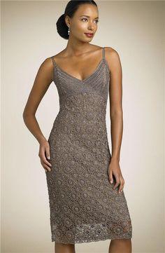 Violet Lace Dress free crochet graph pattern