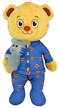Daniel Tiger's Neighborhood Snuggle and Glow Plush Toy - Dressed in his Trolley pajamas, Daniel Tiger is the perfect companion for naptime or bedtime. Encouraging phrases and the popular Goodnight song will provide all the comfort children need to wind down from a busy day and get ready to drift off to sleep. Daniel carries his best friend Tigey who is...