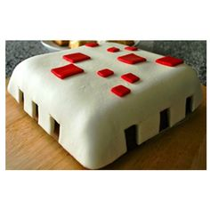 Book your quick order for #MInercraftFondantCake from #Yummycake #CakeDelivery in Delhi NCR.