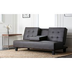 Abbyson Living Lexington Convertible Sofa - Overstock™ Shopping - Great Deals on Abbyson Living Futons