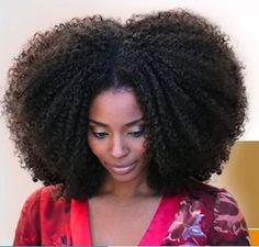 Beautiful healthy, natural hair
