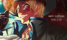 Sabo One Piece, Ace Sabo Luffy, 0ne Piece, Various Artists, Art Pieces, Happy Birthday, Handsome, Fan Art, Cute