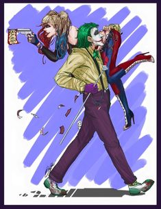 Harley Quinn The Joker