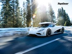 Koenigsegg Agera R III ... = need for going skiing! ;) or one of Jon Olsson's cars will do fine too