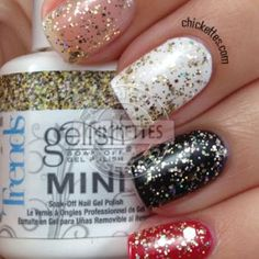 Gelish Trends - All that Glitters is Gold