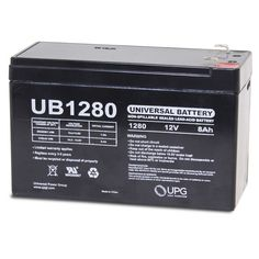 Universal Battery UB1270 Replacement Battery Beiter DC Power