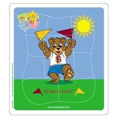 Florida State Seminoles (FSU) Mascot Puzzle, only $8.79!
