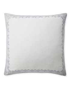 Shop the designer throw pillows collection by Serena & Lily today and discover beautifully patterned, striped & embroidered throw pillows for your home. Living Room Pillows, Sofa Pillows, Designer Throw Pillows, Decorative Throw Pillows, Memorial Day Sales, Silver Pillows, White Embroidery, Vintage Prints, Olympia