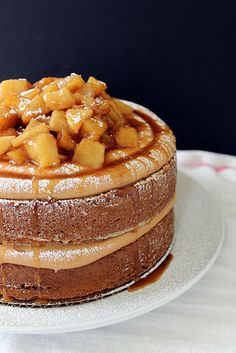 Caramel Apple Pie Cake by Beyond Frosting