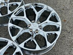 20 Chrome Snowflake Wheels Rims Fits Factory Chevy Silerado Tahoe Suburban CK156 · $1,038.00 Chevy Silverado Rims, Chevy Trucks, Truck Rims, Gmc Denali, Yukon Denali, 22 Rims, Chevy 1500, Wheel And Tire Packages, Aftermarket Wheels