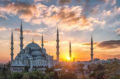 Голубая мечеть, Стамбул…